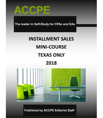 Installment Sales Mini-Course -Texas-Only