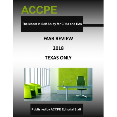 FASB Review 2018 TEXAS ONLY