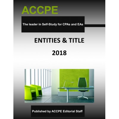 Entities & Title - Mini Course