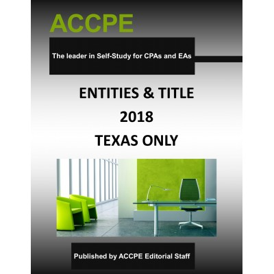Entities & Title - Texas Only -  Mini Course