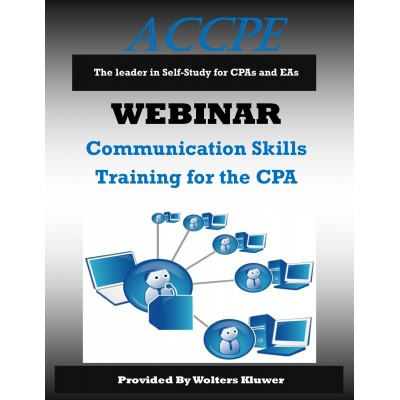 Communications Skills Training for the CPA