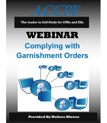 Complying with Garnishment Orders