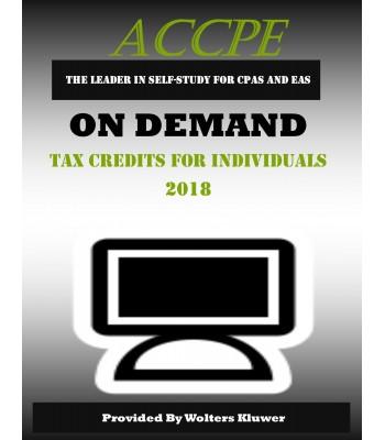 Tax Credits for Individuals