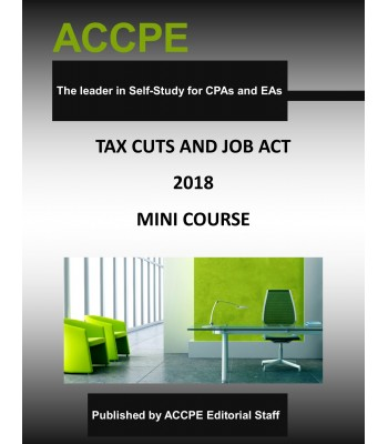 Tax Cuts and Job Act -Mini-Course -2018