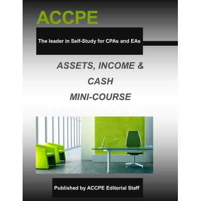 Assets, Income & Cash Mini-Course 2016