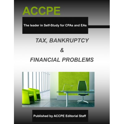 Tax, Bankruptcy & Financial Problems-TEXAS ONLY-631020T- 2016