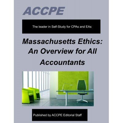 Massachusetts Ethics: An Overview For  Accountants 2017