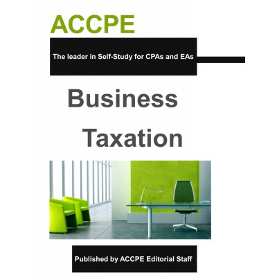 Business Taxation-TEXAS ONLY-308040T-17