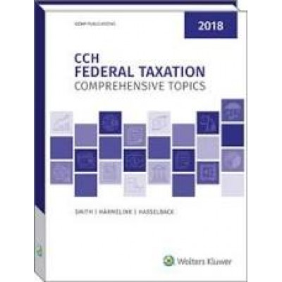 CCH FEDERAL TAXATION -TEXAS ONLY- 295081T-2018