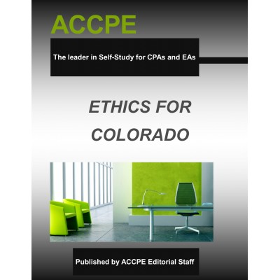 Colorado Ethics: An Overview for Accountants 2017