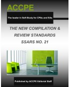 The New Compilation & Review Standards SSARS NO.21-617030T-2016
