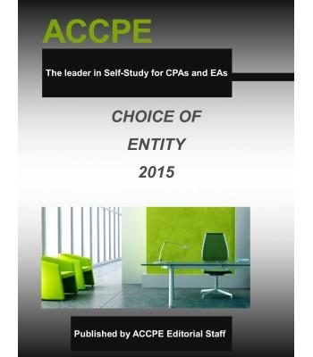 Choice Of Entity Mini-Course 340020-A