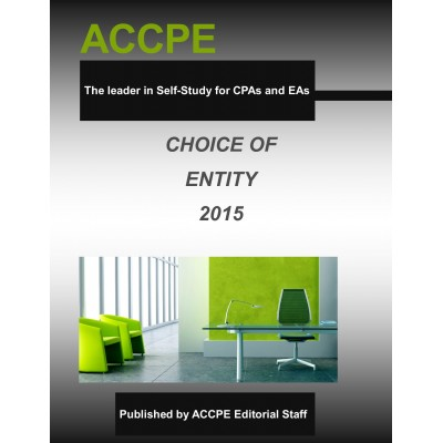 Choice Of Entity Mini-Course 340020-A