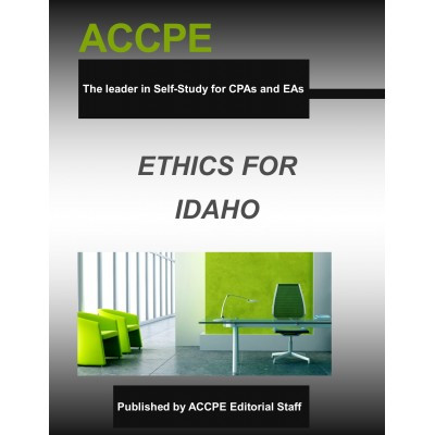 Ethics for Idaho 307029-17