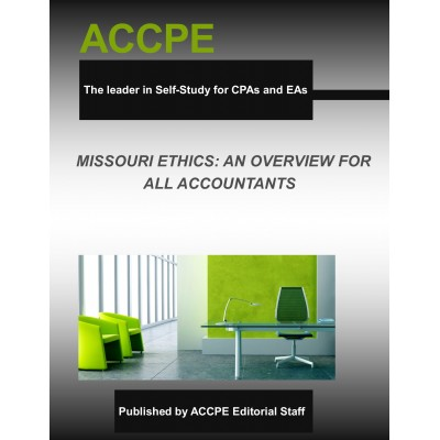 Missouri Ethics: An Overview For All Accountants-2017