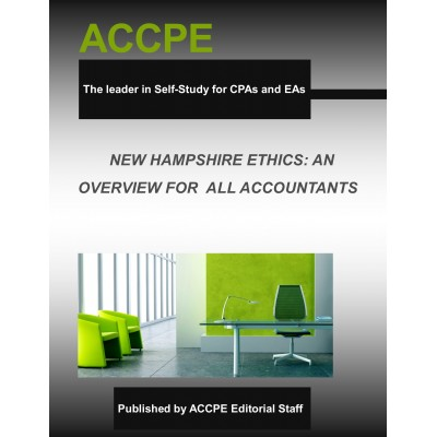 New Hampshire Ethics: An Overview For Accountants 2017