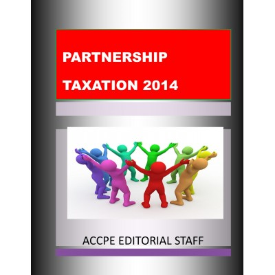 Partnership Taxation Texas Only-370021t-2017