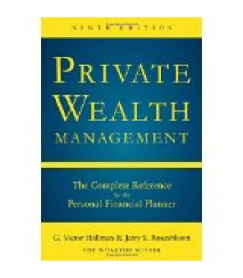 Private Wealth Management Ninth Edition