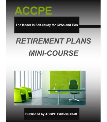 Retirement Plans Mini-Course