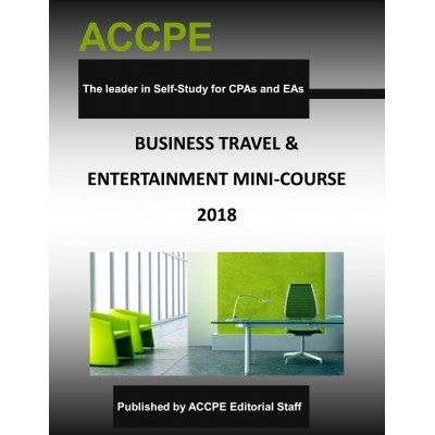 Business Travel and Entertainment Mini-Course