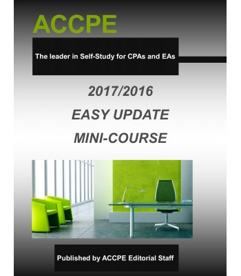 2017 Easy Update & Inflation Adjustments Mini-Course