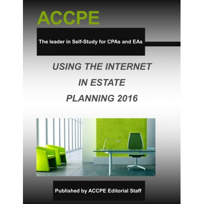 Using the Internet in Estate Planning-2016