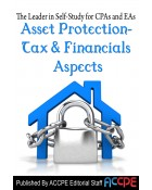 Asset Protection - Tax & Financial Aspects-430021T-2016