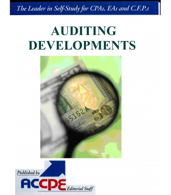 Auditing Developments-TEXAS ONLY-316040T-17