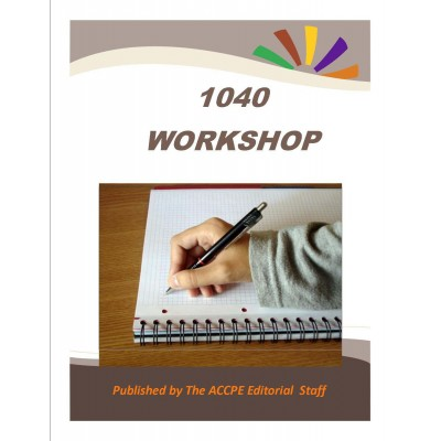 1040 Workshop - TEXAS ONLY-320031T - 2017