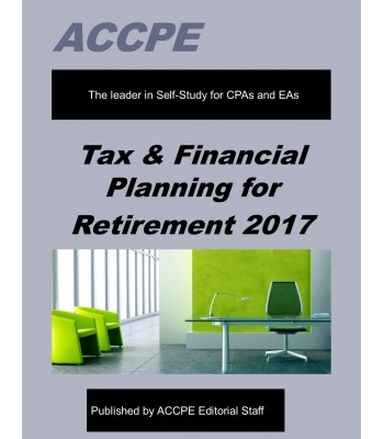 Tax & Financial Planning for Retirement-TEXAS ONLY-637010T
