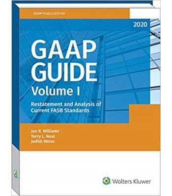 GAAP Guide 2020 Volume I & II TEXAS ONLY