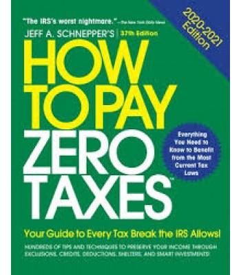 How To Pay Zero Taxes 2020-2021 TEXAS & OHIO ONLY