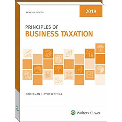 Principles of Business Taxation 2019 TEXAS & OHIO ONLY