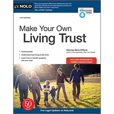 Make Your Own Living Trust 15 Edition