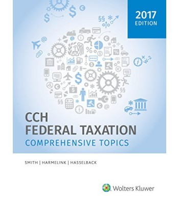 Comprehensive Federal Taxation TEXAS ONLY 295080-2017