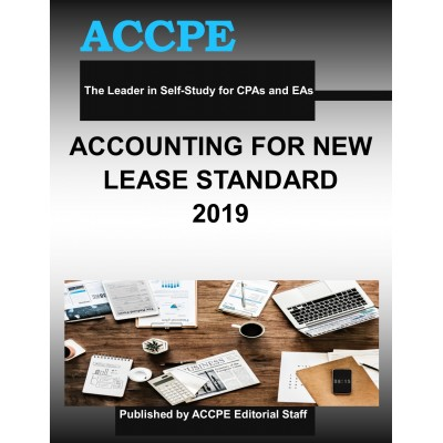 Accounting For The New Lease Standard 2019