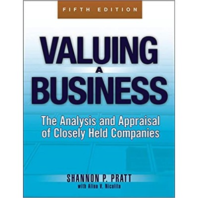 Valuing A Business Fifth Edition