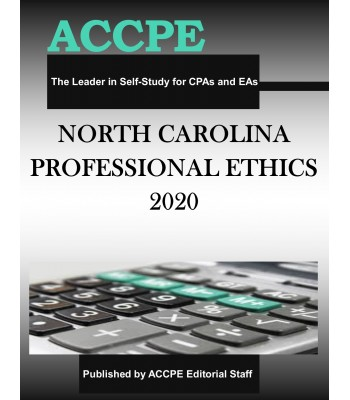 North Carolina Professional Ethics 2020