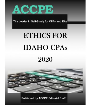 Ethics for Idaho CPAs 2020