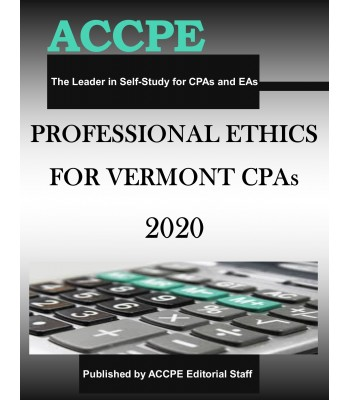 Professional Ethics for Vermont CPAs 2020