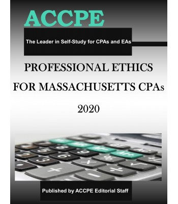 Professional Ethics for Massachusetts CPAs 2020