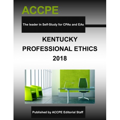 Kentucky Professional Ethics-2018