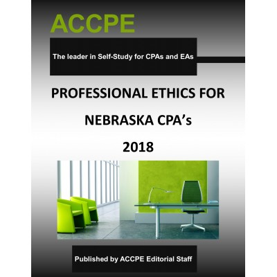 Professional Ethics for Nebraska CPAs 2018