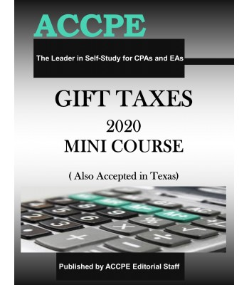 Gift Taxes 2020 Mini Course