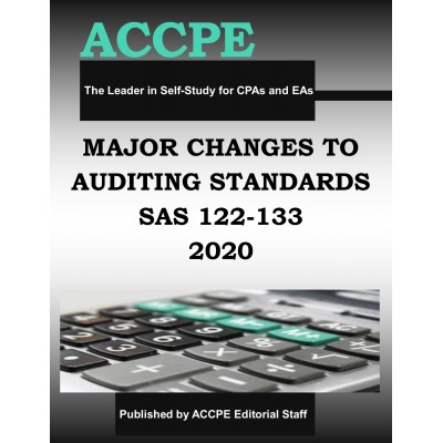 Major Changes to Auditing Standards 2020 TEXAS ONLY