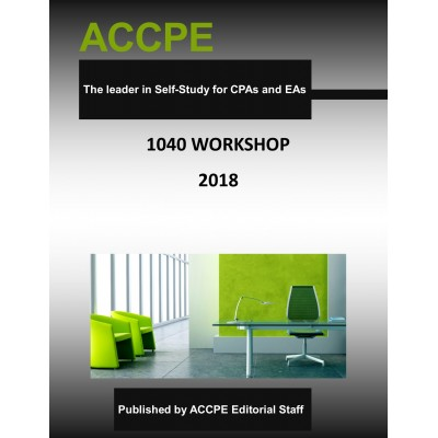 1040 Workshop 2018