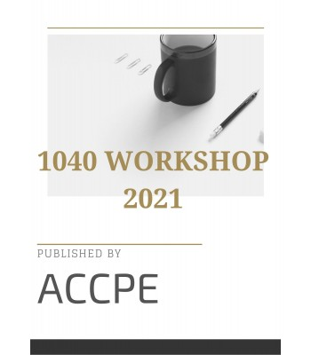 1040 Workshop 2021