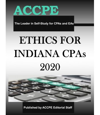 Ethics for Indiana CPAs 2020