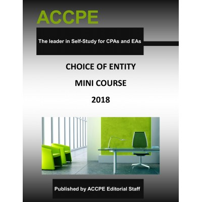Choice Of Entity Mini-Course