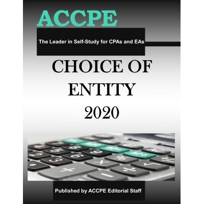 Choice of Entity 2020